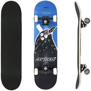 Skate Street Semi Profissional Bel - Corvo Azul