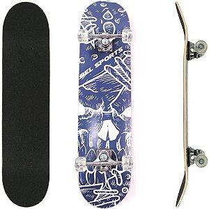 Skate Street Semi Profissional Bel - Grafite Azul