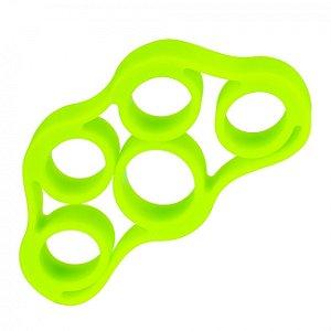 Extensor Elástico Para Fortalecimento dos Dedos 4kg Verde Liveup Sports