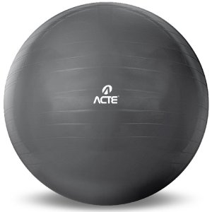 Bola Suíça de Pilates 75cm com Bomba Acte