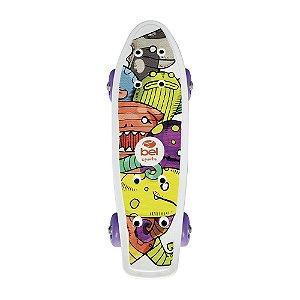 Skate Mini Cruiser Infantil Espacial
