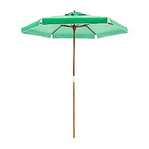 Ombrelone Madeira Guarda Sol 2 metros Itapema Verde