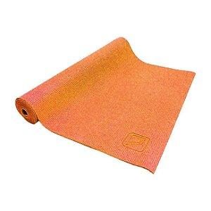 Tapete de Yoga Mat para Exercícios 173cm - Laranja