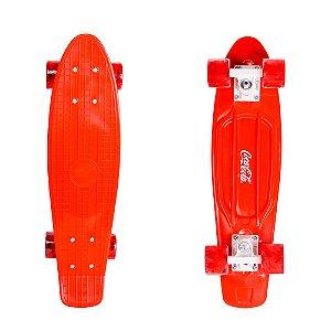 Skate Cruiser Coca Cola - Vermelho