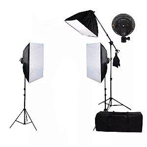 Kit de Iluminação SoftBox 50x70cm - PK-SB03 Sem Lâmpadas