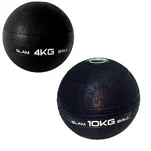 Kit Slam Ball 4Kg e 10Kg Medicine Ball
