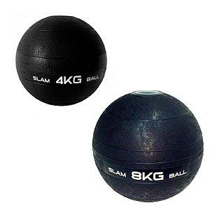 Slam Ball Crossfit - Kit 4Kg e 8Kg