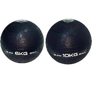 Slam Ball Crossfit - Kit 6Kg e 10Kg
