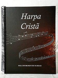 Harpa Cristã Para Instrumentos em Dó na Clave de Sol Soprano e Contralto