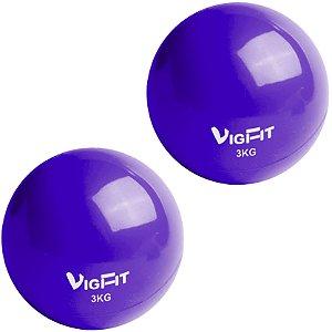Toning Ball 3Kg - Bola Tonificadora Par