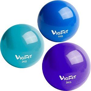 Toning Ball - Kit Completo 1Kg 2Kg e 3Kg
