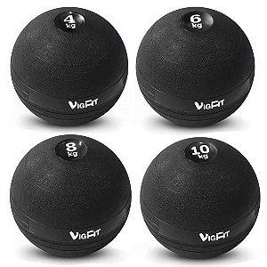 Kit Slam Ball 4Kg 6Kg 8Kg e 10Kg