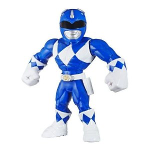 Boneco Power Rangers Azul Mega Mighties
