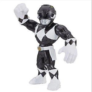 Boneco Power Rangers Preto Mega Mighties