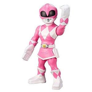 Boneco Power Rangers Rosa Mega Mighties