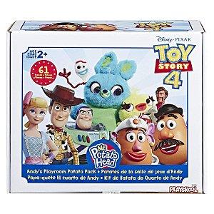 Sr Cabeça de Batata Toy Story 4 - Quarto do Andy 69 Peças