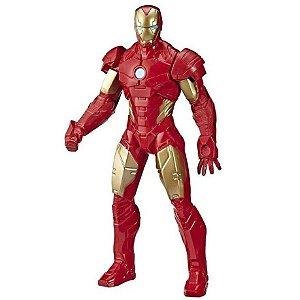 Boneco Vingadores Homem de Ferro Marvel 25cm