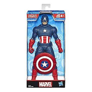 Boneco Vingadores Capitão América Marvel 25cm