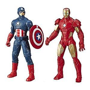 Kit Boneco Vingadores Homem De Ferro Capitão América Marvel