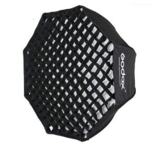 Octabox 120cm Godox com Grid Softbox Sombrinha Guarda Chuva