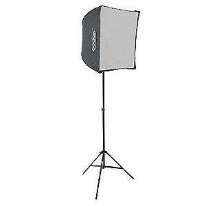 Softbox Godox 60x60cm Sombrinha Kit Flash Speedlite