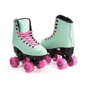 Patins Infantil 4 Rodas Roller Quad My Style Fashion Rollers