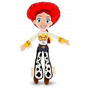 Jessie Boneco de Pelúcia Toy Story 30cm com Som