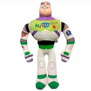 Buzz Lightyear Boneco de Pelúcia Toy Story 30cm com Som