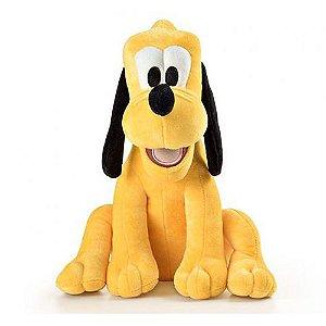 Pluto Boneco de Pelúcia Disney 33cm com Som