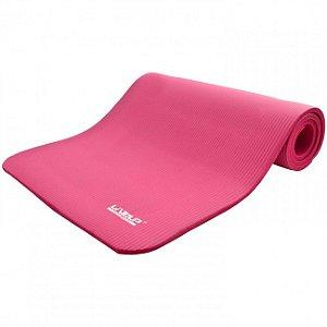 Colchonete Academia Tapete Yoga de Espuma - Rosa