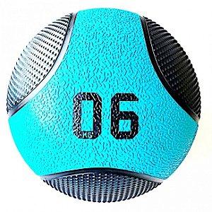 Medicine Ball 6Kg PRO - Bola de Pilates para Treino Funcional