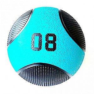 Medicine Ball 8Kg PRO - Bola de Pilates para Treino Funcional