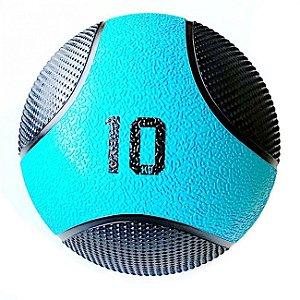 Medicine Ball 10Kg PRO - Bola de Pilates para Treino Funcional