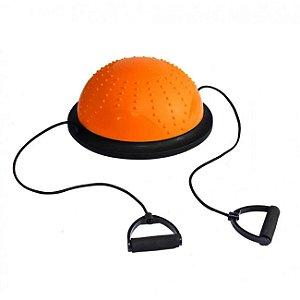 Meia Bola de Pilates para Equilíbrio 46cm - Liveup