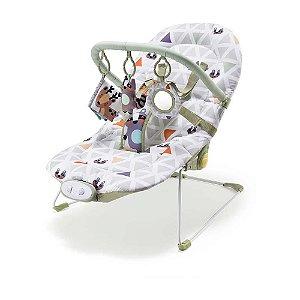 Cadeira de Descanso Vibratória - Cadeirinha de Bebê Weego até 15Kg Verde