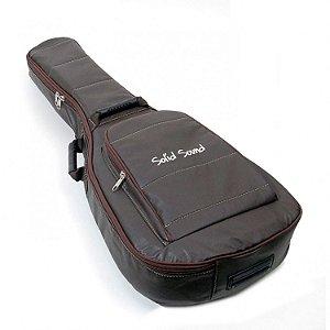 Capa para Violão Folk LT BR Solid Sound Marrom