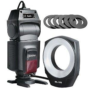 Flash Macro Ring Godox Universal ML-150