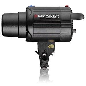 Flash para Estúdio Fotográfico Tolifo MT-300Am Tocha 300w 110v