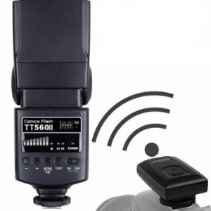 Flash Speedlite Godox TT560 II Rádio Flash Universal