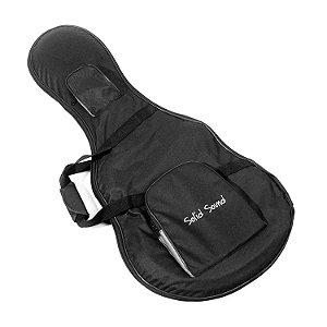 Case para Guitarra Semi Acústica Solid Sound Hard Bag