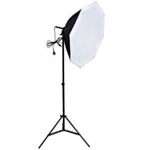 Softbox Octabox 70cm Soquete E27 - Kit com Tripé