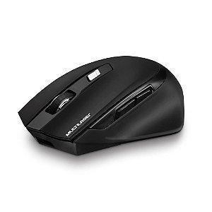 Mouse Sem Fio Multilaser PRO 6 Botões 2400 DPI