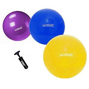 Bola Suíça de Pilates 55cm 65cm e 75cm - Kit