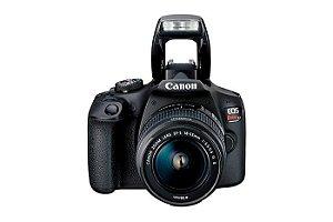 Câmera Digital Canon EOS Rebel T100 com Lente EF-S 18-55mm f/3.5-5.6 III