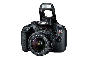 Câmera Digital Canon EOS Rebel T7+ com Lente EF-S 18-55mm f/3.5-5.6 IS II