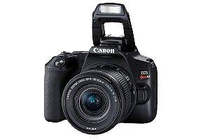 Câmera Digital Canon EOS Rebel SL3 com Lente EF-S 18-55mm f/4-5.6 IS STM