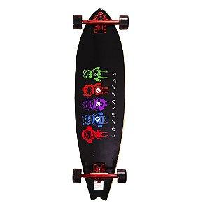 Skate Longboard 90cm - Long Comic Monster