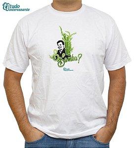 Camiseta  E o bambu?