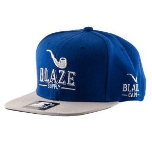 Boné Blaze Supply Starter Blue Grey Logo