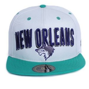 Boné Other Culture Snapback New Orleans Cinza